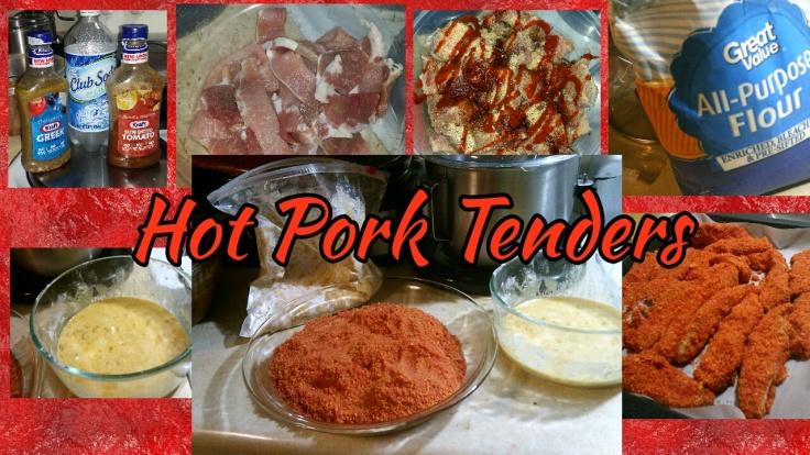 Hot Pork Tenders